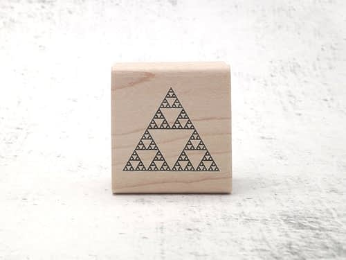 Sierpinski Triangle Stamp
