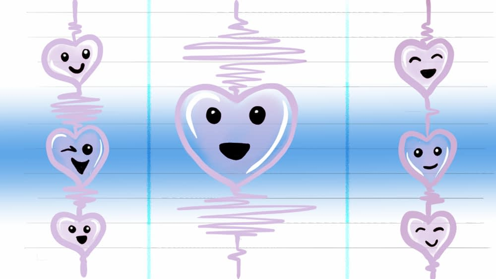 Image of Richter Scale with Hearts