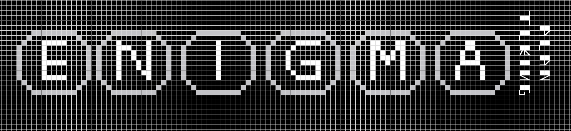 Alan Turing Mathematical Cross Stitch Enigma Pattern