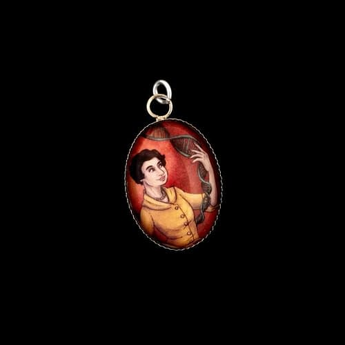 Charm featuring Rosalind Franklin